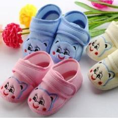 Giày dán hình mèo cho bé trai và bé gáI