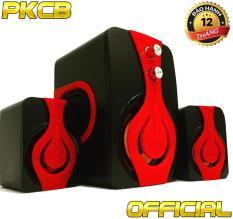 Loa nghe nhạc máy tính, điện thoại Bass ấm PKCB 2060 speakers PF9