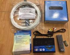 Đầu thu kỹ thuật số DVB T2 VTC model T201 + ăng ten 15m dây