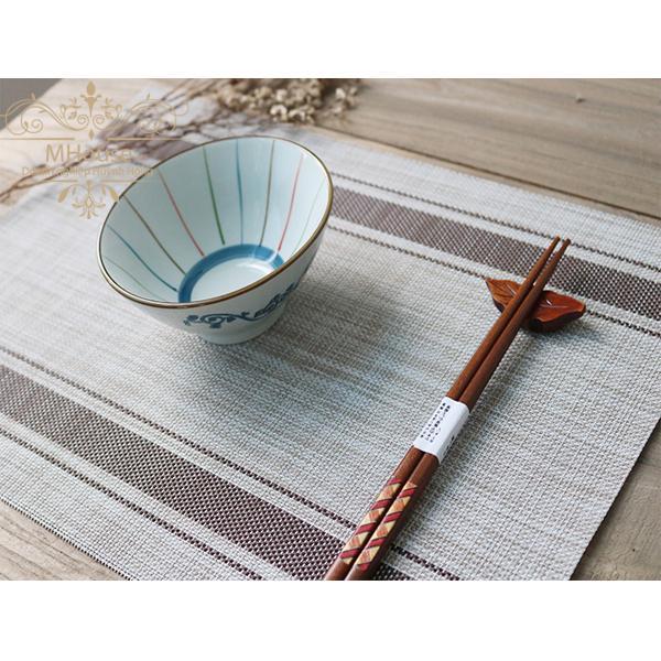 Bộ 4 khăn lót bàn ăn ( sọc nâu )