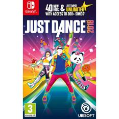 Đĩa Game Nintendo Switch Mới – Just Dance 2018