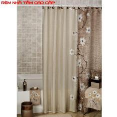 Cách may rèm cửa sổ đẹp, Rèm mành, Vải rèm – Rèm nhà tắm chống nước loại 1, kín đáo và sang trọng – Mã BH 88