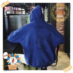 Áo Hoodie nam nữ HÌNH HỌC form rộng, có nón phong cách trẻ trung năng động, chất liệu vải nỉ cao cấp