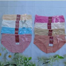 Bộ 10 Quần Lót Cotton Thái Mẫu Mới