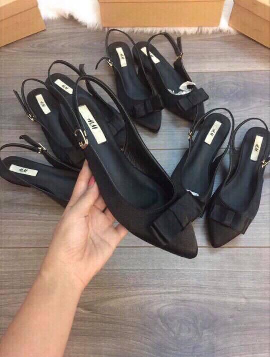 giày lơ hở gót