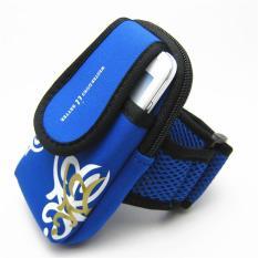 Đai Túi đeo tay chạy bộ chống nước cách điệu (xanh da trời)