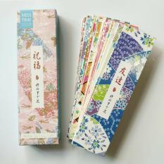 Bookmark đánh dấu sách hộp 30 tấm
