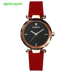 Đồng hồ nữ SANDA 5510 dây da thật duyên dáng