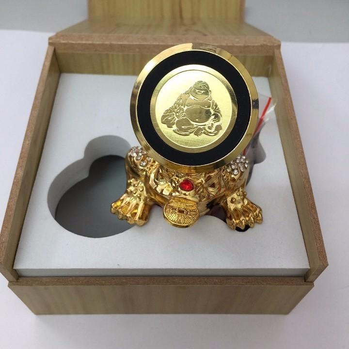 Nên mua Giá Đỡ Hít Điện Thoại Gắn Xe Hơi Hình Con Cóc Vàng Xoay 360 Độ ở Đổng Phương Nam Shop