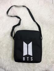 Túi đeo chéo nam nữ in logo BTS
