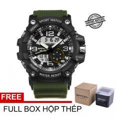 (Đẳng cấp) Đồng hồ Nam SANDA SA759 quân đội -Full box hộp thép