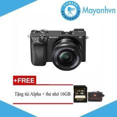 Sony Alpha A6300 KIT 16-50mm F/3.5-5.6 OSS Tặng kèm thẻ nhớ 16GB và túi Sony