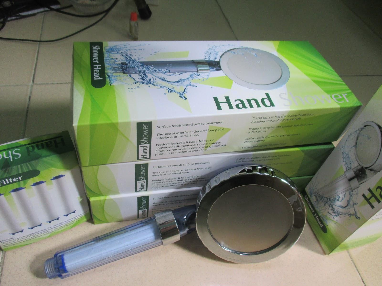 Vòi sen lọc nước Hand Shower SB (Bề mặt 115mm)