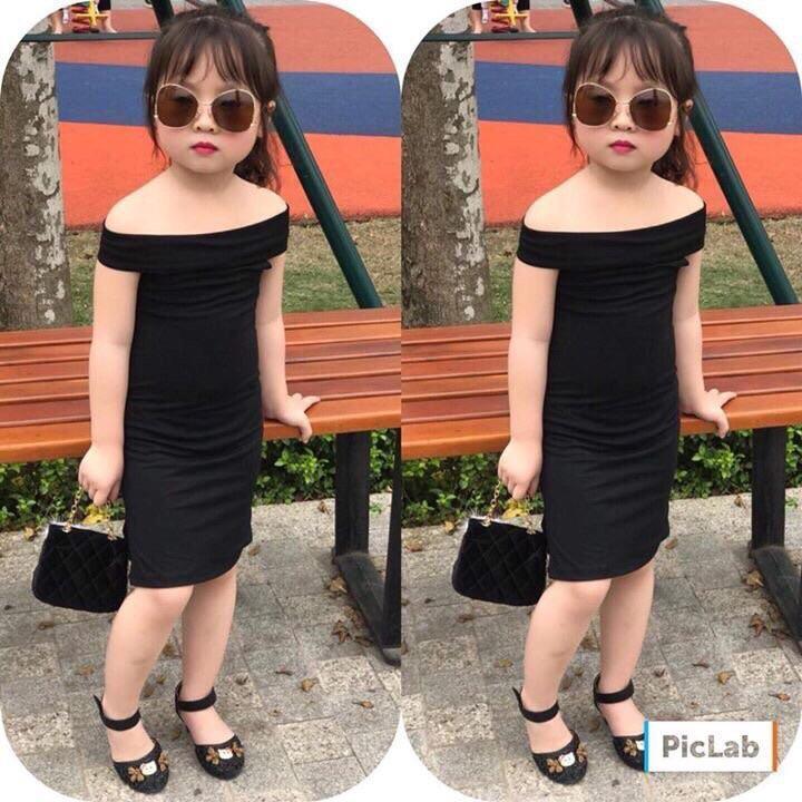 Váy body trễ vay trẻ em