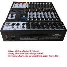 Mixer 8line Digital kỹ thuật số cao cấp