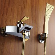Sen tắm tay PIENO nóng lạnh tay mạ vàng P401