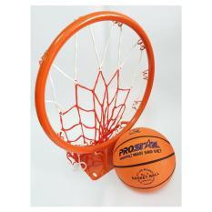 Combo bộ Vành bóng rổ 35cm + Bóng rổ gerustar số 3 ĐỒ TẬP TỐT
