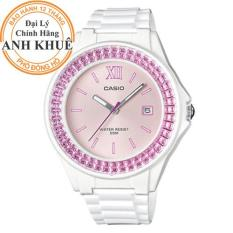 Đồng hồ nữ dây nhựa Casio Anh Khuê LX-500H-4EVDF