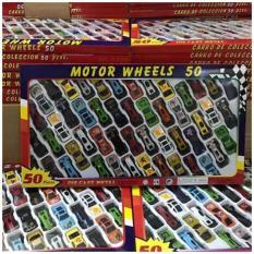 Set đồ chơi 50 xe ô tô mô hình bằng sắt cho bé
