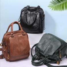 Túi xách kết hợp đeo vai kiêm ba lô thời trang 3IN1 siêu dày, chống nước BT03