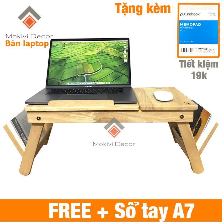 Nơi bán Bàn laptop gỗ đa năng TẶNG KÈM sổ tay A7 (100 trang) – bàn laptop xếp gọn thông minh nhiều nhất
