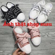 [susuptstore] giày thể thao hở gót mới