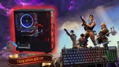 Máy tính gaming i7 6700, DDR4 16G ram, SSD 240GB, Card GTX 1080 8GB, Case fan led như hình, tặng kèm phím giả cơ