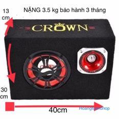 Loa Crown Vuông 8( crown 10 vuông) tặng dây hoa sen