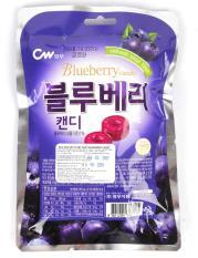 Kẹo trái cây vị việt quất CW Hàn Quốc (100g)