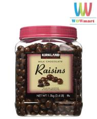 Chocolate nho Kirkland Signature Milk Chocolate Raisins 1.5kg
