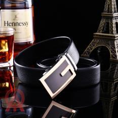 Thắt lưng nam dây da khóa tự động Gentlemen – Gold