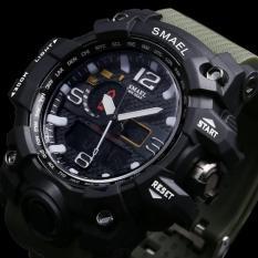 Đồng hồ nam quân đội Mỹ SMAEL DO1 siêu chống nước chống sốc dây cao su bền bỉ(Cập nhật 2019)