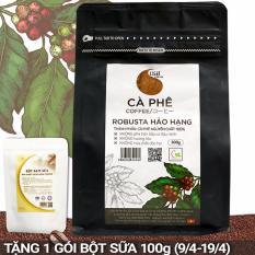 Cà phê bột nguyên chất 100% Robusta Hảo Hạng – Light coffee – gói 100g