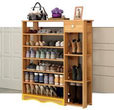Kệ để giày dép bằng gỗ – kệ giày gỗ thông minh GDTRUONG29
