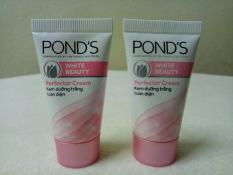 Combo 5 tuýt Kem dưỡng trắng Pond's + tặng 1 túi đựng mỹ phẩm xinh xắn