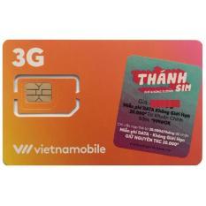 Thánh sim 3G Vietnamobile – FREE 4Gb/ngày, 120Gb/tháng