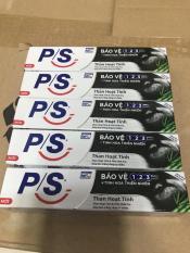 Combo 5 típ Kem Dánh Răng P/S Than Hoạt Tính (mini 30g)
