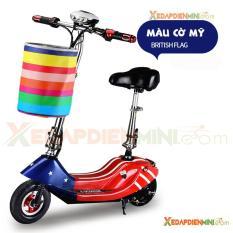 Xe đạp điện mini E-Scooter 2018 – Xe điện mini giá rẻ