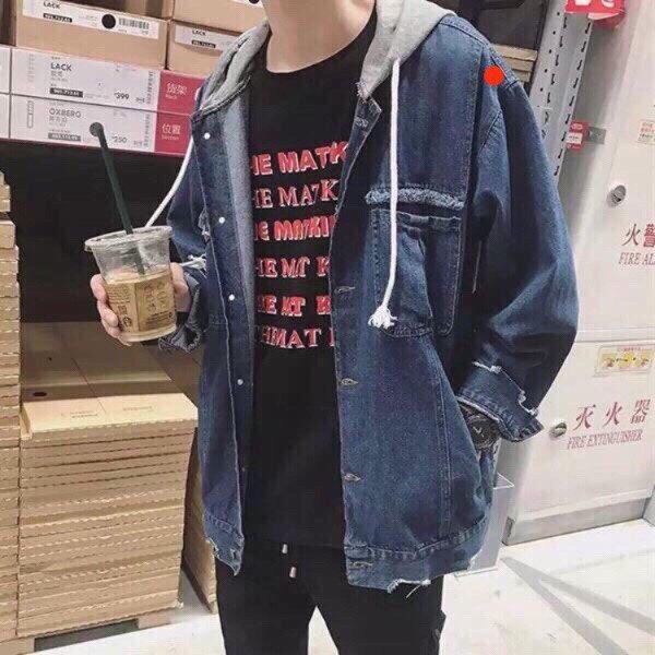 """áo khooác jean nam demin nam hàng chất lượng cao """" JM-Jk01″"""