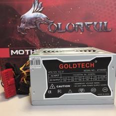 Nguồn máy tính văn phòng Goldtech ATXW500 FAN 12, bảo hành 1 năm