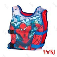 Phao bơi trẻ em, áo phao bơi SPIDERMAN (Bé từ 2 – 10 tuổi), chất liệu tiêu chuẩn EU cao cấp – POKI