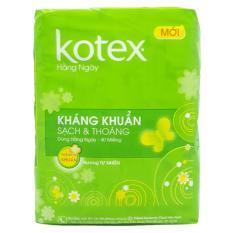 Băng vệ sinh Kotex Daily gói 40 miếng