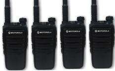 Bộ 4 Bộ đàm Motorola CP318 (BN3)+tặng kèm 04 tai nghe
