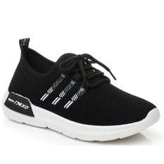 Giày Sneaker Thể Thao Nữ SODOHA Siêu Hot YN9-319B Màu Đen