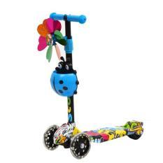 Xe Scooter 3 bánh hoạ tiết Graffiti