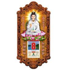 Lịch gỗ 3D Phật Quan Âm 3DMoi13