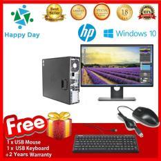 Bộ Combo Máy tính Văn Phòng HP 6300 Pro SFF + LCD Dell 22inch Full HD (G2030- Ram 8GB- SSD 120GB- HDD 2TB) + Bộ Quà Tặng