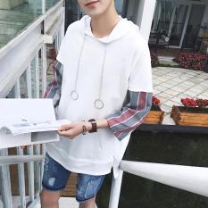 Áo Thun Hoodie Nam Tay Lỡ Form Rộng- TN Glamour