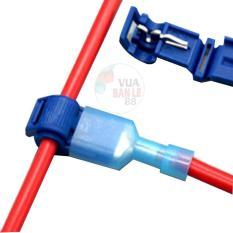 Bộ 20 Cút nối dây điện chữ T2 dây 1- 2.5mm (15A vừa)