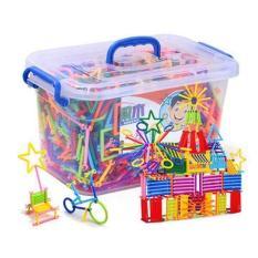 Đồ chơi trẻ em, đồ chơi thông minh cho bé 2 tuổi – Bộ đồ chơi xếp hình cho bé 350 chi tiết, Giúp tăng khả năng sáng tạo của bé